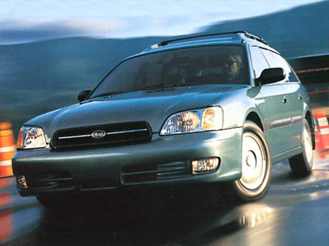 Top Consumer Rated Wagons of 2002 - 2002 Subaru Legacy
