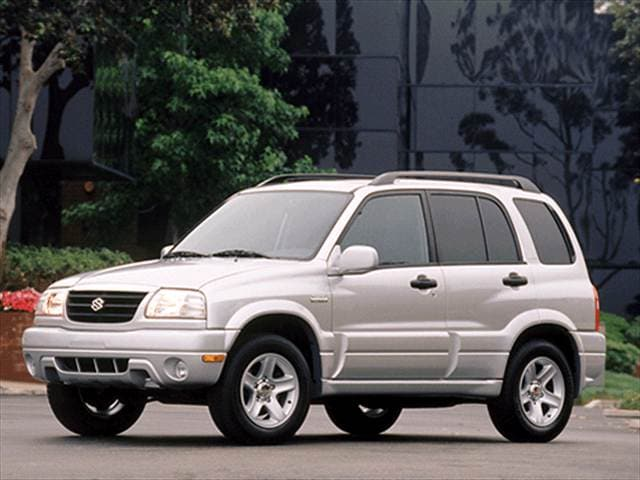 Top Consumer Rated Crossovers of 2002 - 2002 Suzuki Grand Vitara