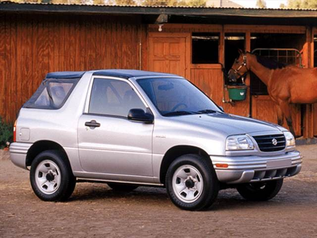 Most Fuel Efficient Convertibles of 2002 - 2002 Suzuki Vitara