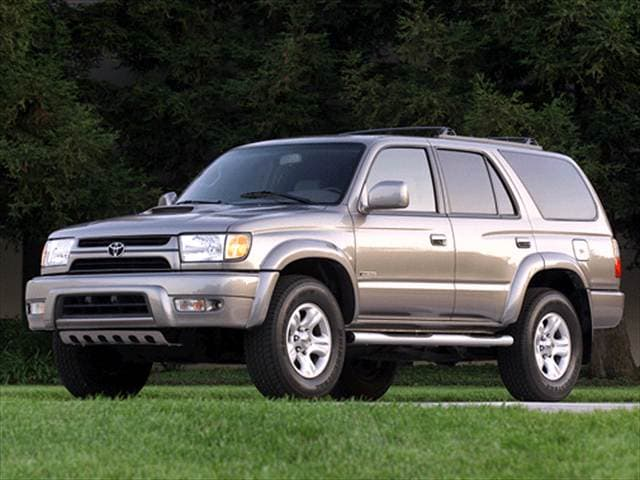 Top Consumer Rated SUVs of 2002 - 2002 Toyota 4Runner