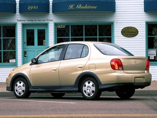 Most Fuel Efficient Sedans of 2002 - 2002 Toyota Echo