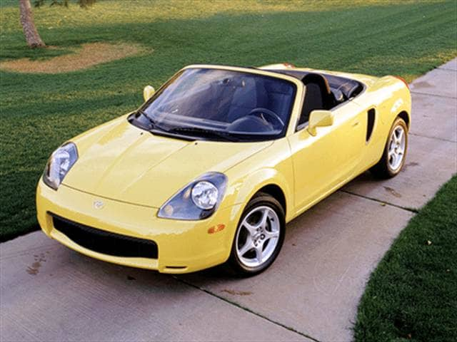 Most Fuel Efficient Convertibles of 2002 - 2002 Toyota MR2