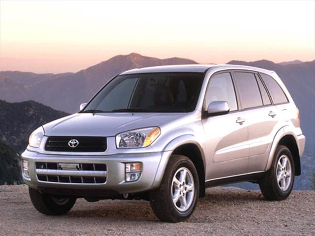 Most Fuel Efficient Crossovers of 2002 - 2002 Toyota RAV4