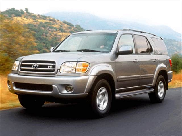 Top Consumer Rated SUVs of 2002 - 2002 Toyota Sequoia