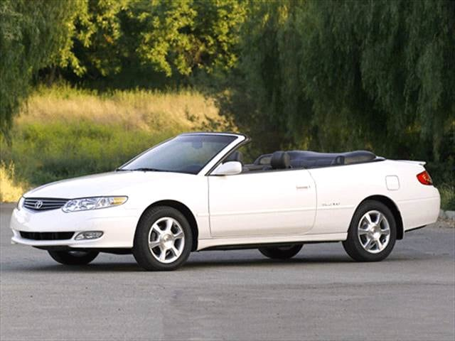 Most Fuel Efficient Convertibles of 2002 - 2002 Toyota Solara