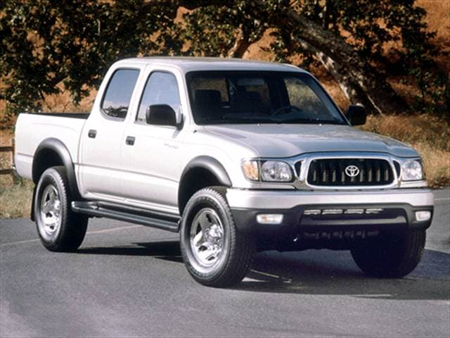 Most Popular Trucks of 2002 - 2002 Toyota Tacoma Double Cab
