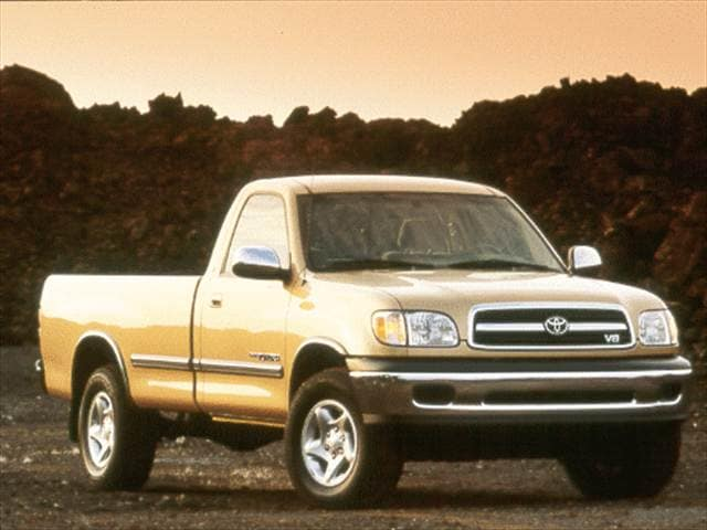 Top Consumer Rated Trucks of 2002 - 2002 Toyota Tundra Regular Cab