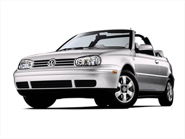 Most Fuel Efficient Convertibles of 2002 - 2002 Volkswagen Cabrio