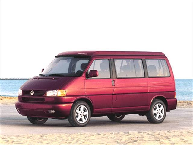 Top Consumer Rated Vans/Minivans of 2002 - 2002 Volkswagen Eurovan