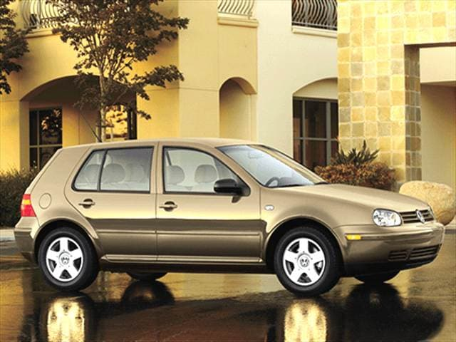 Most Fuel Efficient Sedans of 2002 - 2002 Volkswagen Golf