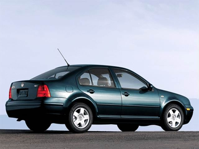 Most Popular Sedans of 2002 - 2002 Volkswagen Jetta