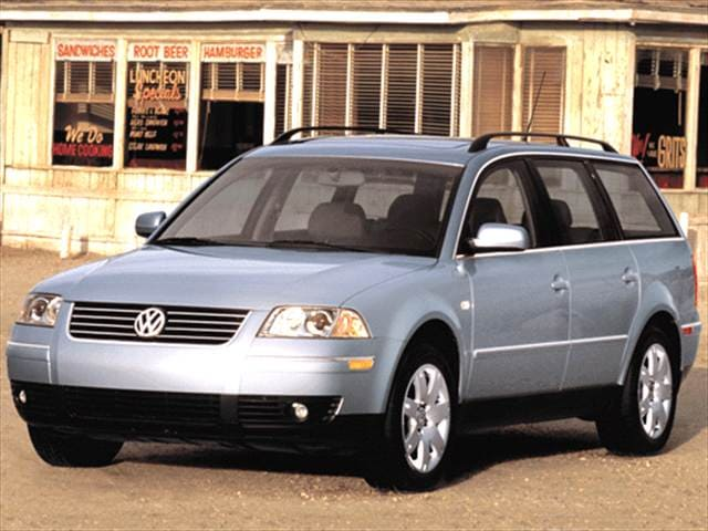 Highest Horsepower Wagons of 2002 - 2002 Volkswagen Passat