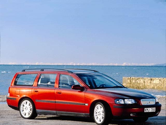 Most Fuel Efficient Wagons of 2002 - 2002 Volvo V70