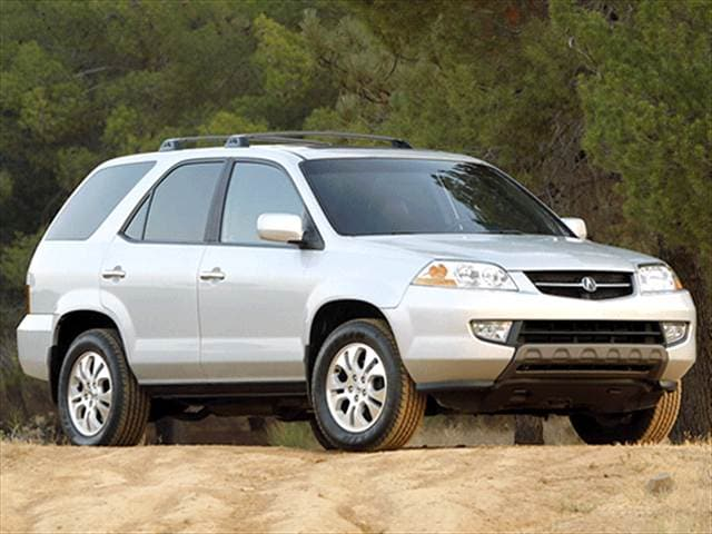 Top Consumer Rated Crossovers of 2003 - 2003 Acura MDX