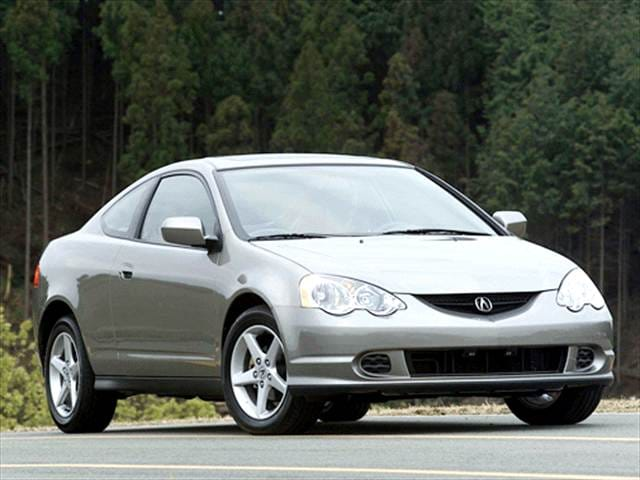 Most Popular Luxury Vehicles of 2003 - 2003 Acura RSX
