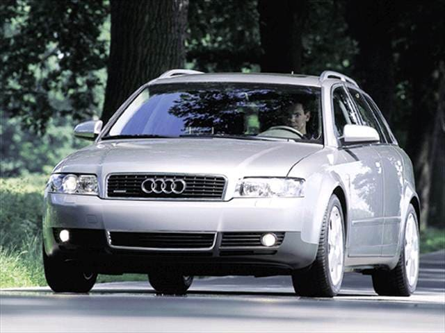 Highest Horsepower Wagons of 2003 - 2003 Audi A4