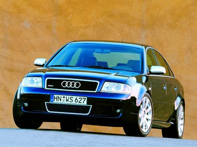 Top Consumer Rated Luxury Vehicles of 2003 - 2003 Audi RS 6