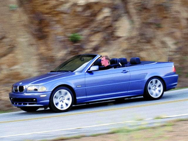 Most Popular Convertibles of 2003 - 2003 BMW 3 Series
