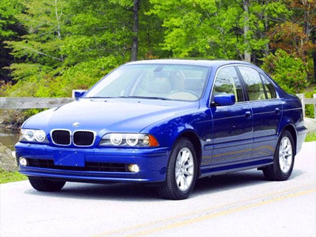 Most Popular Luxury Vehicles of 2003 - 2003 BMW 5 Series