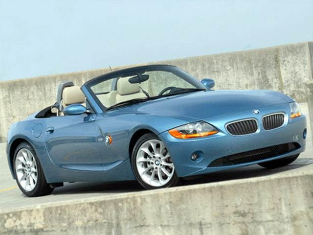 Most Fuel Efficient Convertibles of 2003 - 2003 BMW Z4