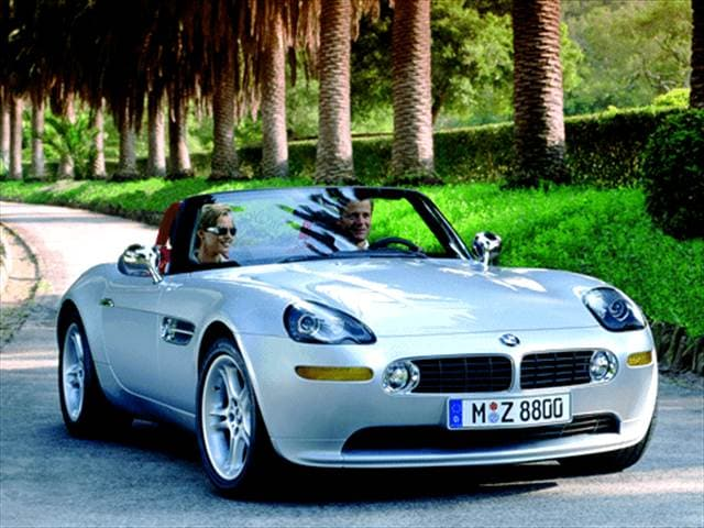 Highest Horsepower Luxury Vehicles of 2003 - 2003 BMW Z8