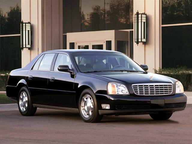 Most Popular Luxury Vehicles of 2003 - 2003 Cadillac DeVille