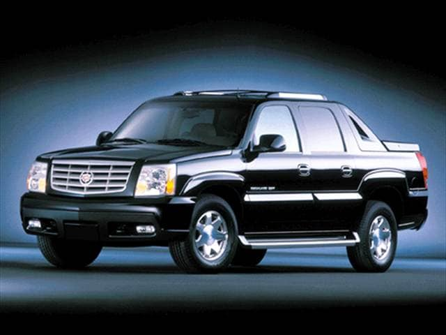 Top Consumer Rated SUVs of 2003 - 2003 Cadillac Escalade EXT
