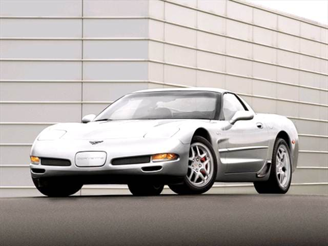 Highest Horsepower Hatchbacks of 2003 - 2003 Chevrolet Corvette