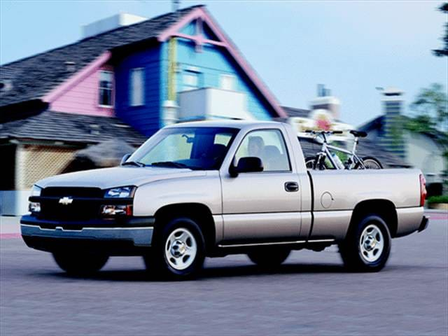 Most Popular Trucks of 2003 - 2003 Chevrolet Silverado 1500 Regular Cab