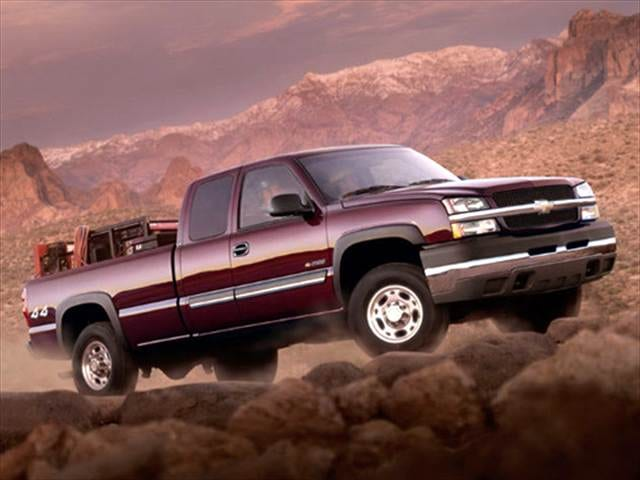 Top Consumer Rated Trucks of 2003 - 2003 Chevrolet Silverado 2500 Extended Cab