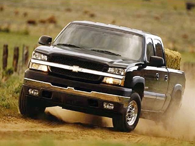 Used Chevy Silverado 2500 >> Used 2003 Chevrolet Silverado 2500 HD Crew Cab Pickup 4D 8 ...