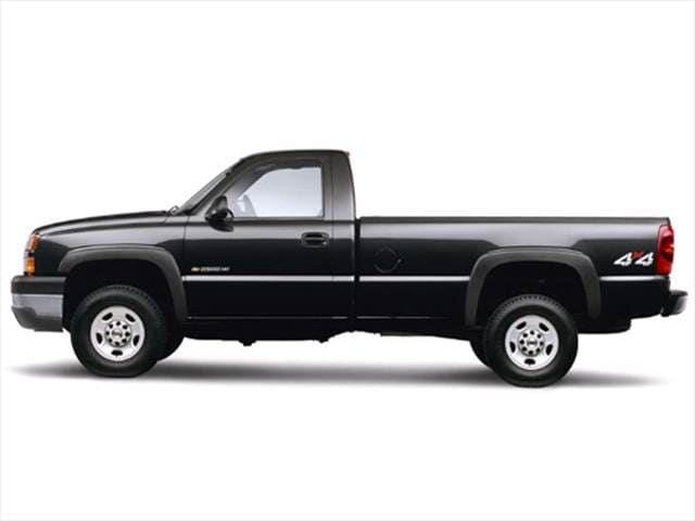 Top Consumer Rated Trucks of 2003 - 2003 Chevrolet Silverado 2500 HD Regular Cab