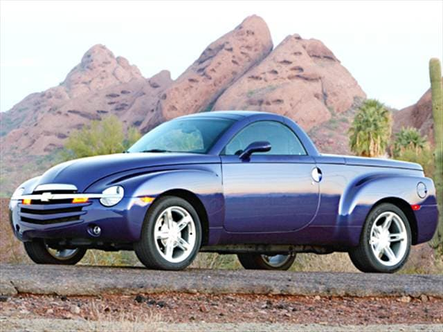 Top Consumer Rated Trucks of 2003 - 2003 Chevrolet SSR