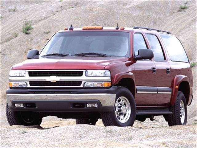 Highest Horsepower SUVs of 2003 - 2003 Chevrolet Suburban 2500