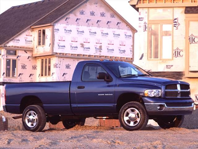 Most Popular Trucks of 2003 - 2003 Dodge Ram 2500 Regular Cab
