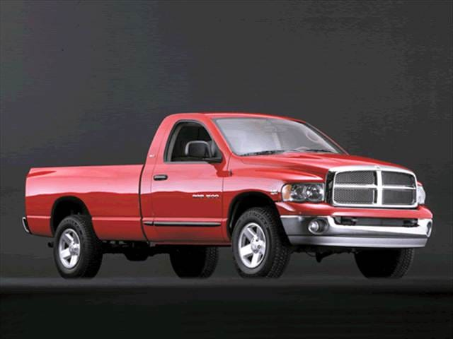 Most Popular Trucks of 2003 - 2003 Dodge Ram 3500 Regular Cab