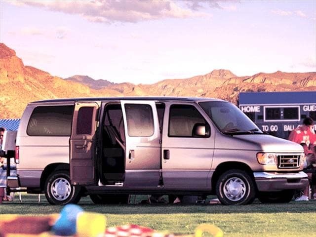 Top Consumer Rated Vans/Minivans of 2003 - 2003 Ford E150 Passenger