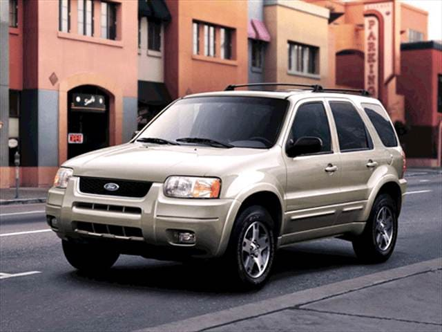 Most Popular Crossovers of 2003 - 2003 Ford Escape