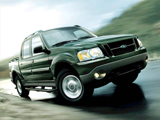 Most Fuel Efficient Trucks of 2003 - 2003 Ford Explorer Sport Trac