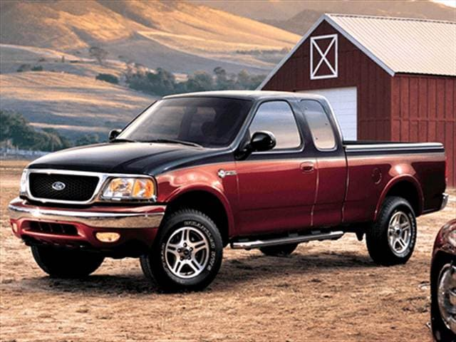 Most Fuel Efficient Trucks of 2003 - 2003 Ford F150 Super Cab