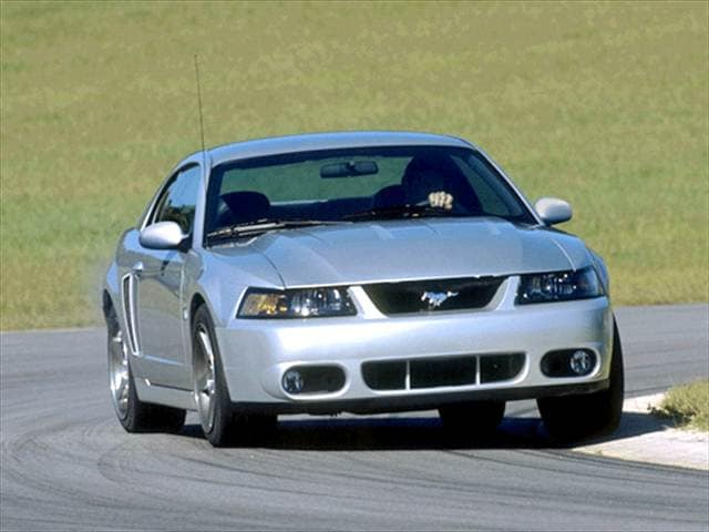 Highest Horsepower Coupes of 2003 - 2003 Ford Mustang