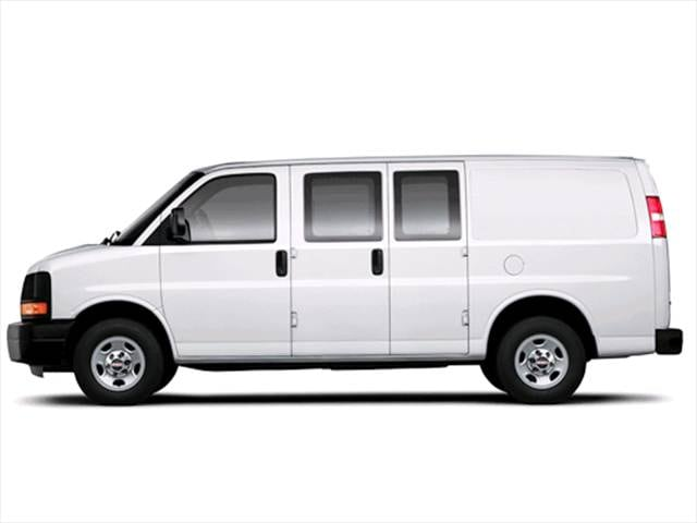 Top Consumer Rated Vans/Minivans of 2003 - 2003 GMC Savana 2500 Passenger