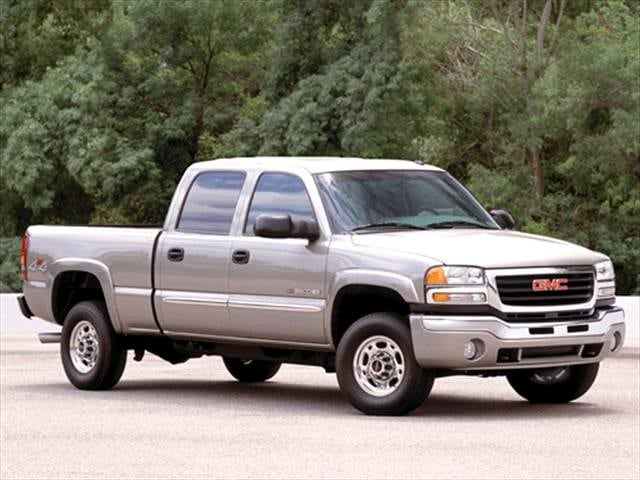 Highest Horsepower Trucks of 2003 - 2003 GMC Sierra 2500 HD Crew Cab
