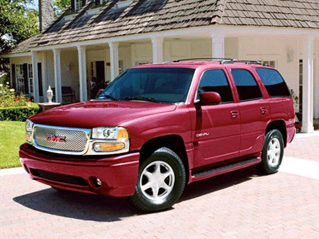 Highest Horsepower SUVs of 2003 - 2003 GMC Yukon