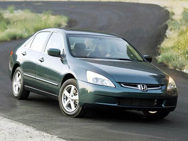 Most Popular Sedans of 2003 - 2003 Honda Accord