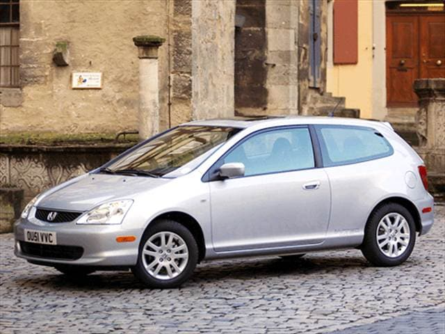 Most Popular Hatchbacks of 2003 - 2003 Honda Civic