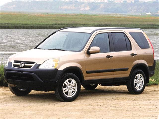 Top Consumer Rated Crossovers of 2003 - 2003 Honda CR-V