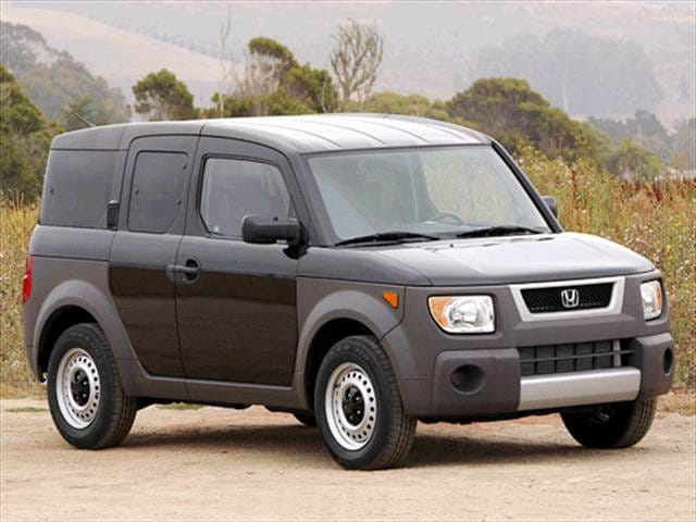 Most Fuel Efficient Crossovers of 2003 - 2003 Honda Element