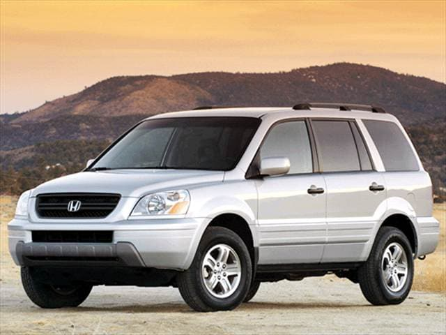 Top Consumer Rated Crossovers of 2003 - 2003 Honda Pilot
