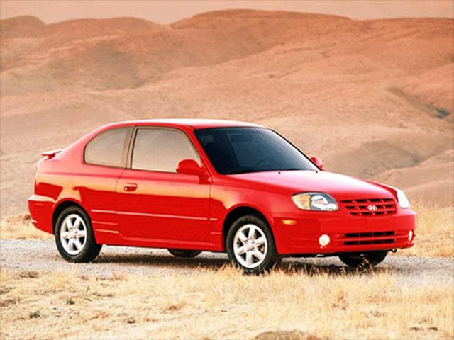 Most Fuel Efficient Hatchbacks of 2003 - 2003 Hyundai Accent